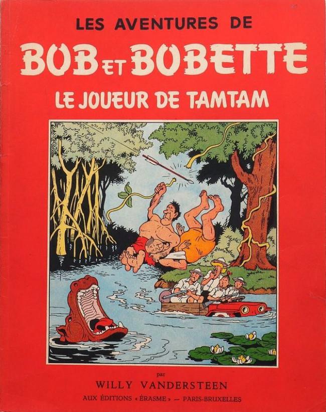 Couverture de Bob et Bobette -10- Le Joueur de tamtam