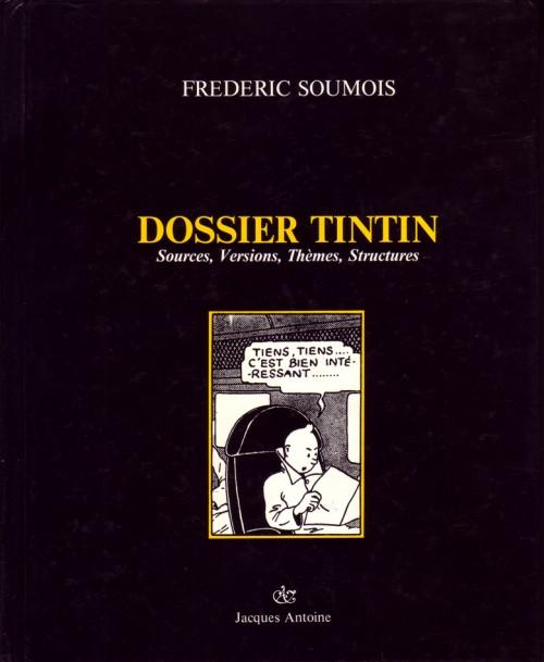 Couverture de (AUT) Hergé -164- Dossier Tintin