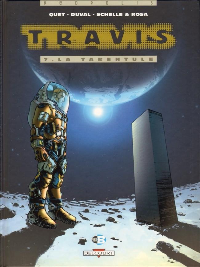 Couverture de Travis -7- La Tarentule