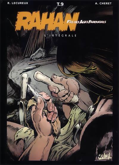 Couverture de Rahan (Intégrale - Soleil) -9- Le secret de l'enfance de Rahan...
