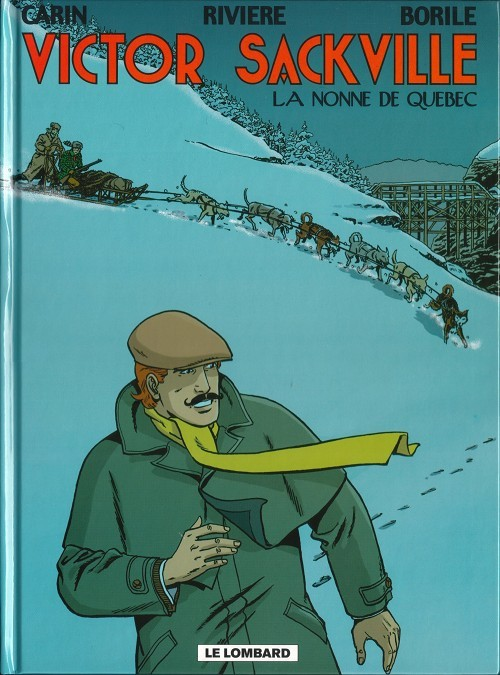 Couverture de Victor Sackville -19- La nonne de Québec