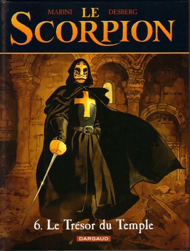 Couverture de Le scorpion -6- Le trésor du Temple