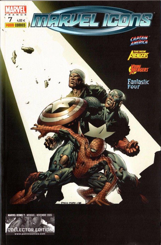 Couverture de Marvel Icons (Marvel France - 2005) -7- Evasion (3)