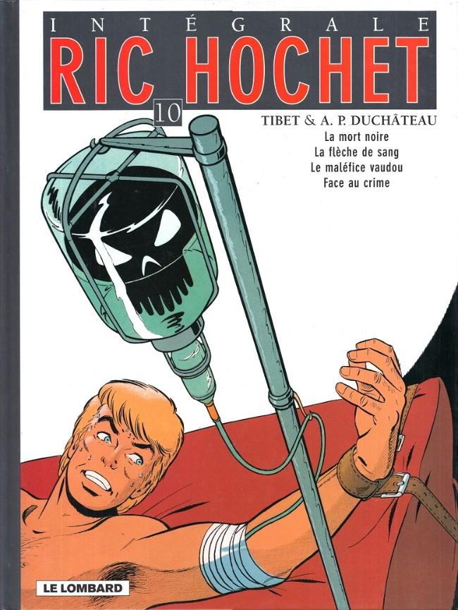 Couverture de Ric Hochet (Intégrale) -10- Tome 10