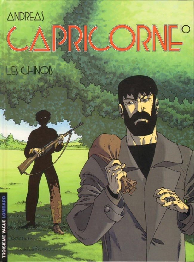Couverture de Capricorne -10- Les chinois