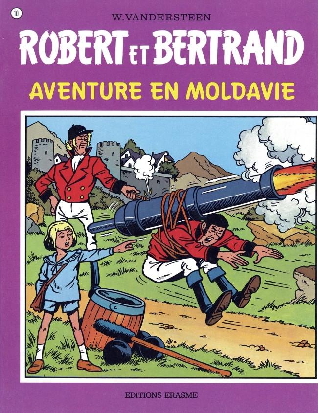 Couverture de Robert et Bertrand -10- Aventure en Moldavie