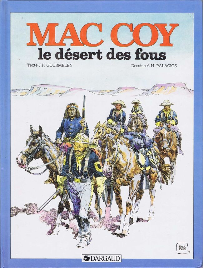 Couverture de Mac Coy -14- Le désert des fous
