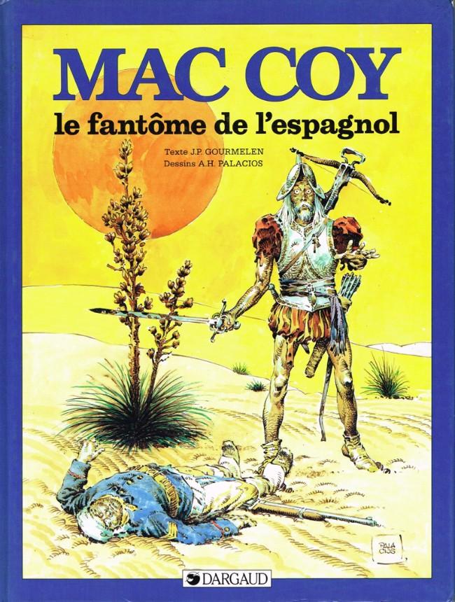 Couverture de Mac Coy -16- Le fantôme de l'espagnol