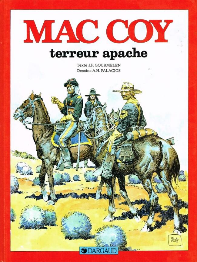 Couverture de Mac Coy -17- Terreur apache