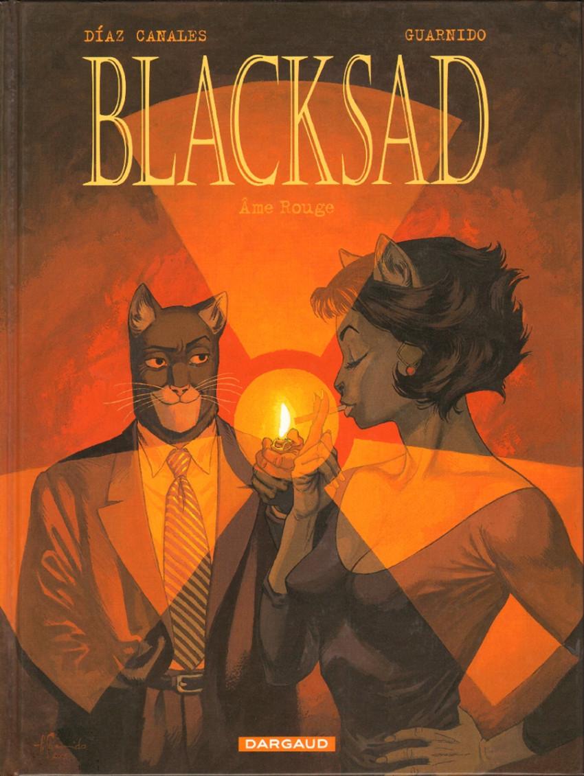 Couverture de Blacksad -3- Âme Rouge