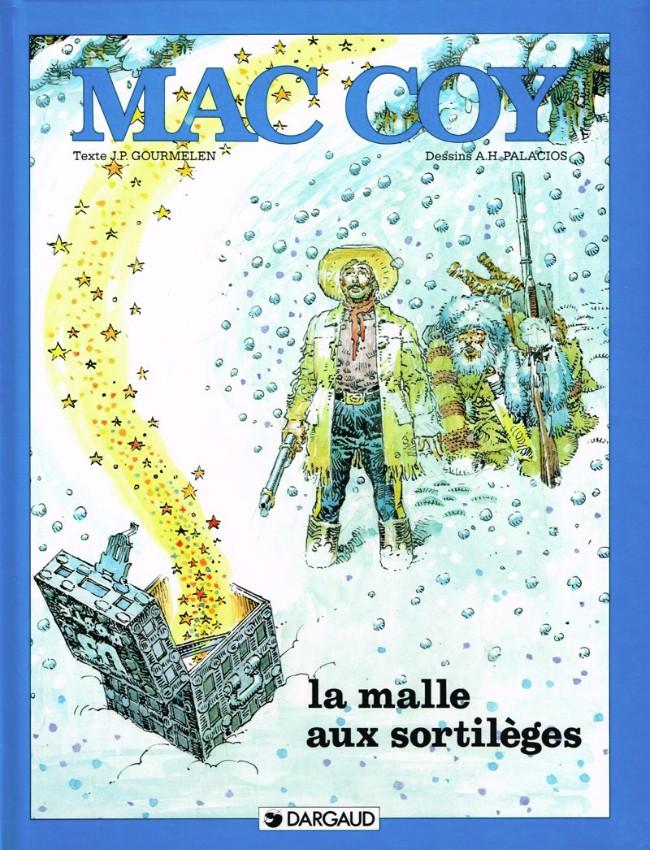 Couverture de Mac Coy -18- La malle aux Sortilèges