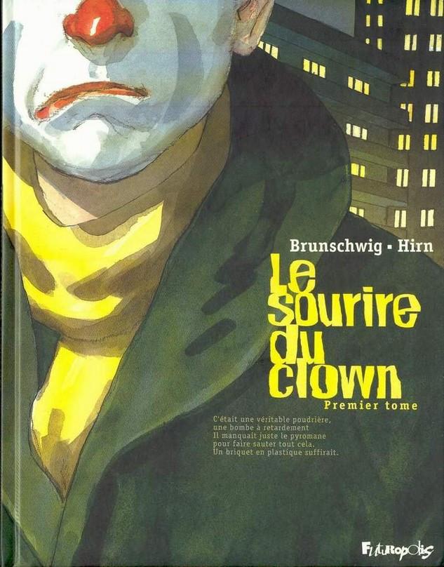 Couverture de Le sourire du clown -1- Premier tome
