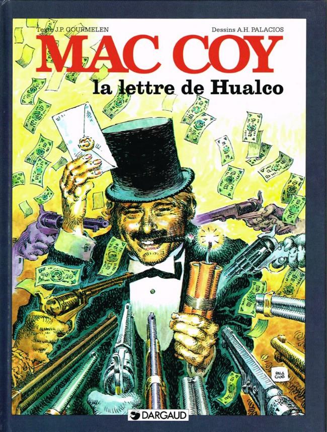 Couverture de Mac Coy -19- La lettre de Hualco