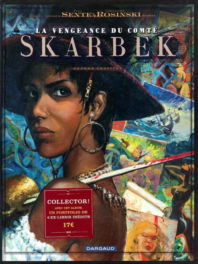 Couverture de La vengeance du Comte Skarbek -2- Un cœur de bronze
