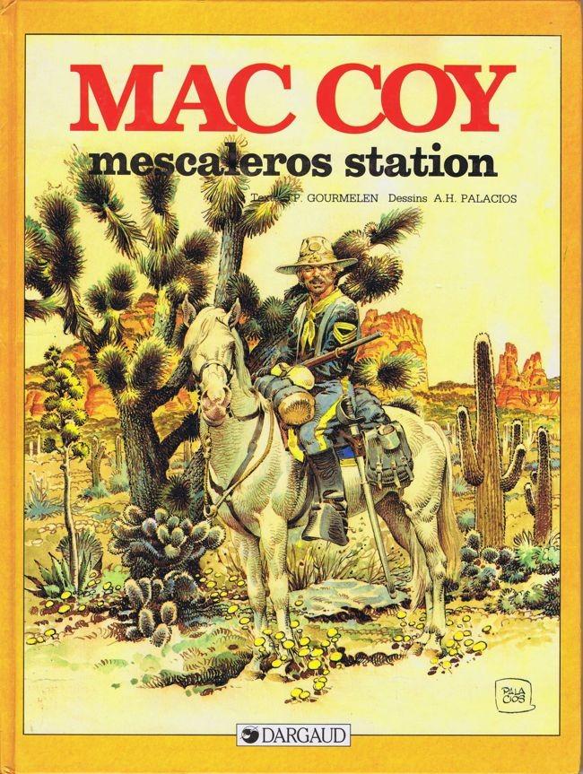 Couverture de Mac Coy -15- Mescaleros station
