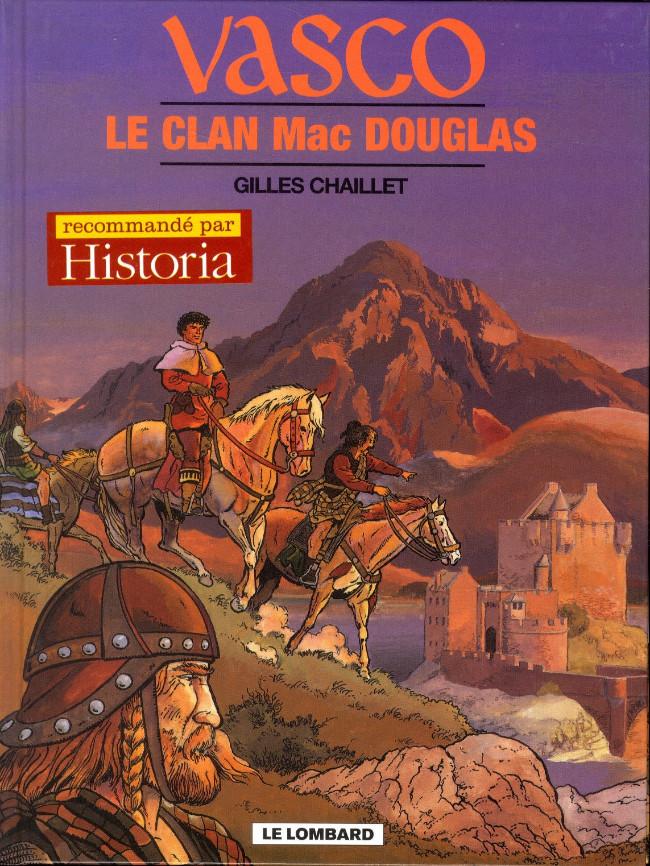 Couverture de Vasco -21- Le clan Mac Douglas