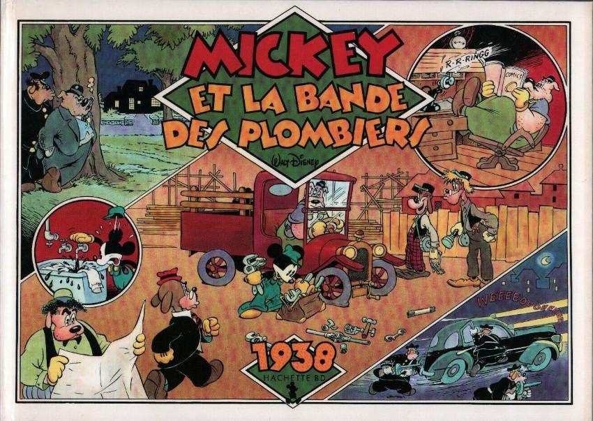 Couverture de Mickey (L'âge d'or de) -1- Mickey et la bande des plombiers