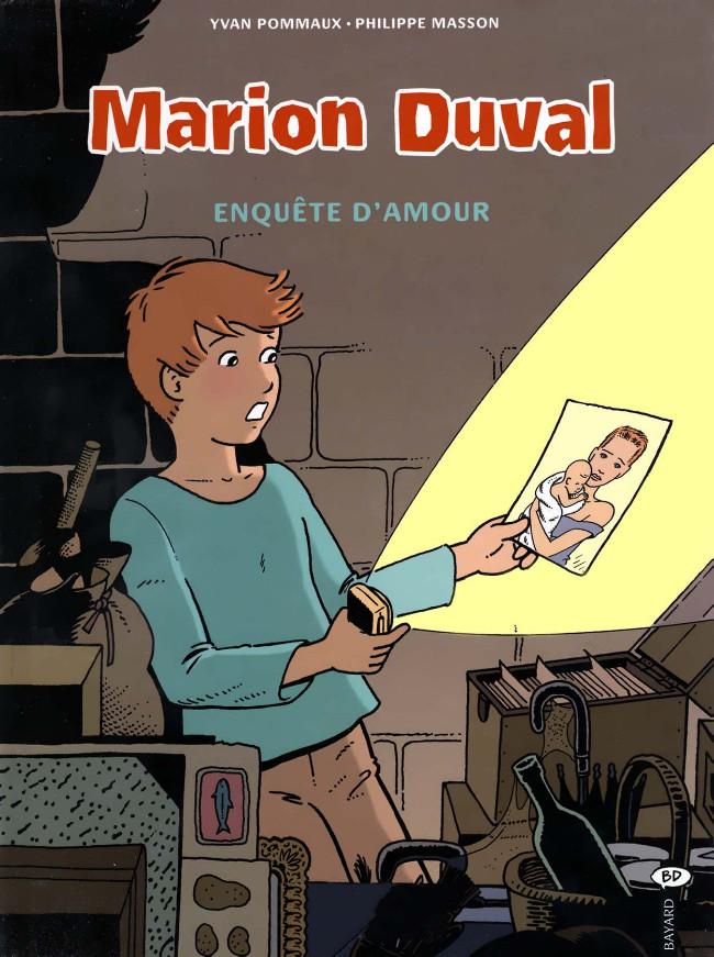 Couverture de Marion Duval -15- Enquête d'amour
