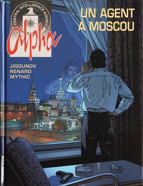 Couverture de Alpha -INT1- Un agent à Moscou