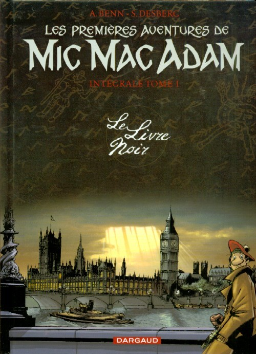 Couverture de Mic Mac Adam -INT1- Le Livre Noir