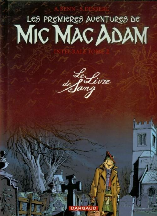 Couverture de Mic Mac Adam -INT2- Le Livre de Sang