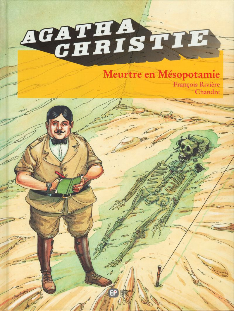 Couverture de Agatha Christie (Emmanuel Proust Éditions) -12- Meurtre en Mésopotamie