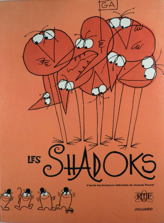 Couverture de Les shadoks -1- Les Shadoks