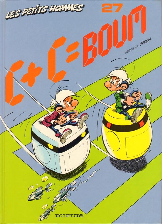 Couverture de Les petits hommes -27- C + C = Boum