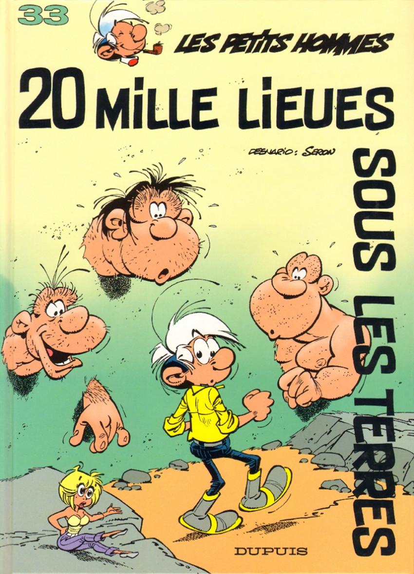 Couverture de Les petits hommes -33- Vingt mille lieues sous les terres