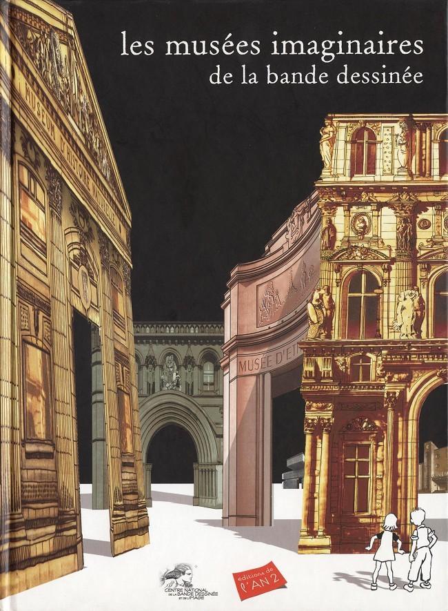 Couverture de (DOC) Études et essais divers - Les musées imaginaires de la bande dessinée