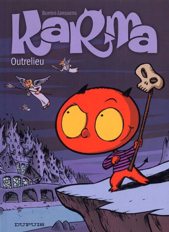 Couverture de Karma -1- Outrelieu