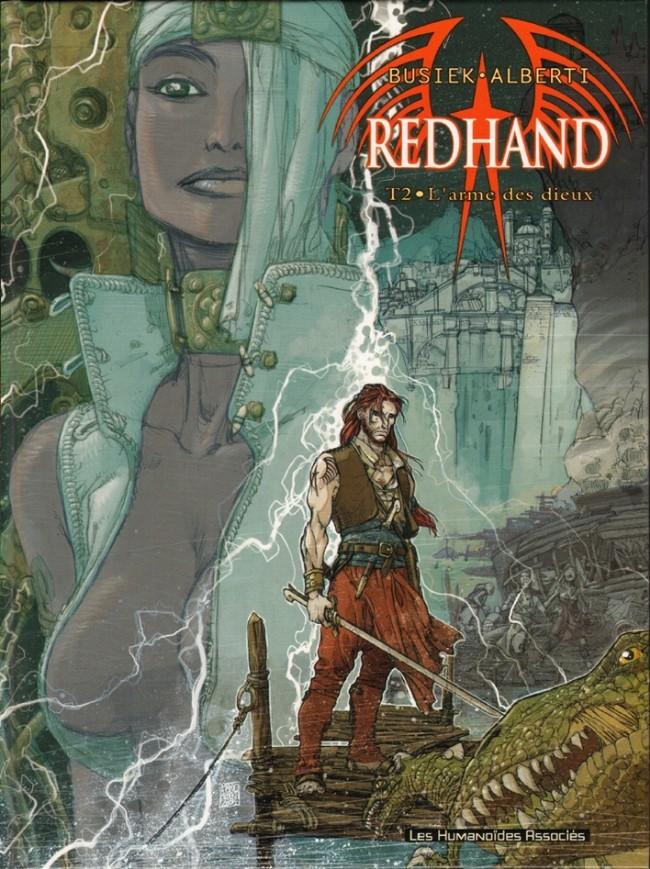 Couverture de Redhand -2- L'arme des Dieux