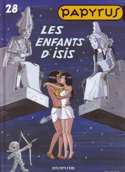 Couverture de Papyrus -28- Les enfants d'Isis