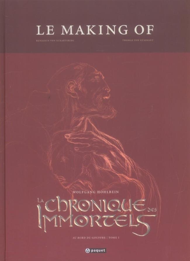 Couverture de La chronique des Immortels -HS- Au bord du gouffre : tome 1 - Le Making of