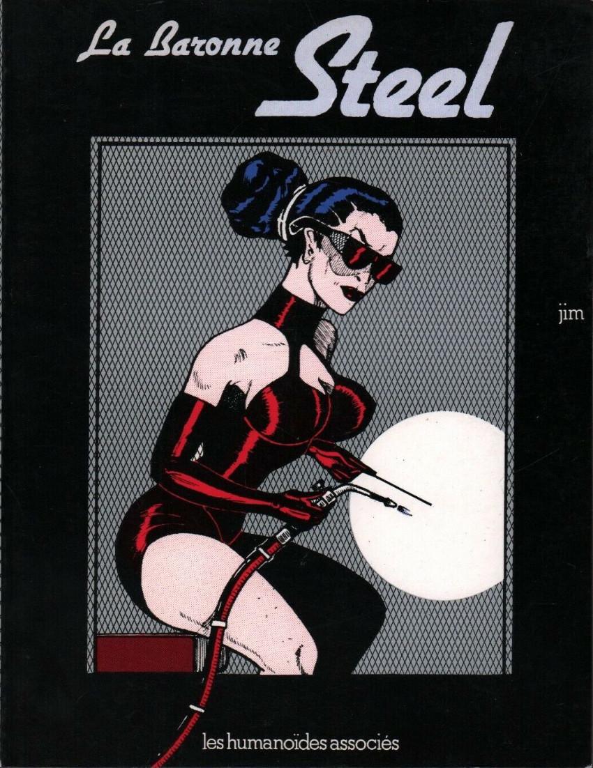 Couverture de La baronne Steel - La Baronne Steel