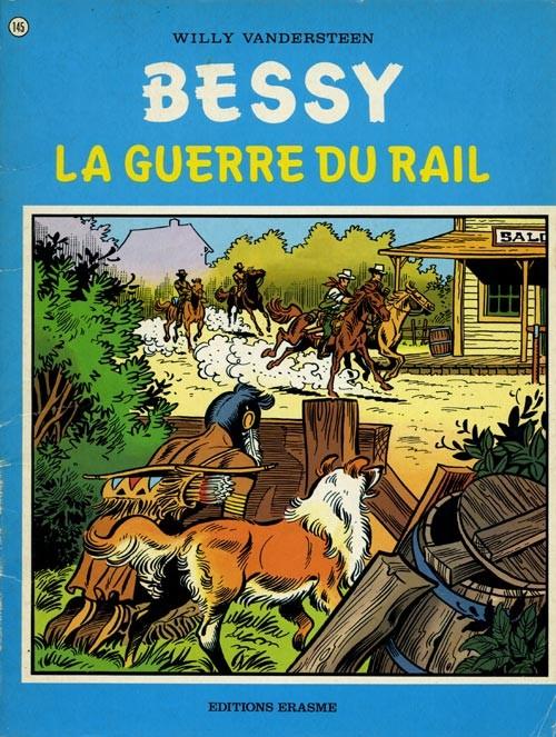 Couverture de Bessy -145- La guerre du rail