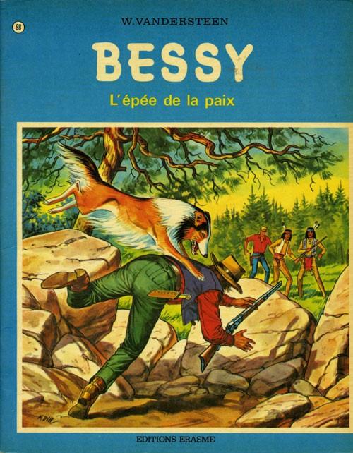Couverture de Bessy -98- L'épée de la paix