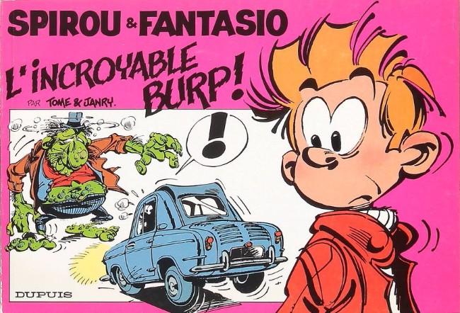 Couverture de Spirou et Fantasio -2- (Divers) -ED1- L'incroyable Burp !