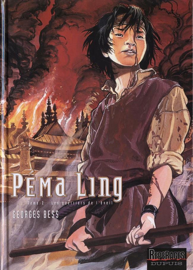 Couverture de Péma Ling -2- Les guerriers de l'éveil