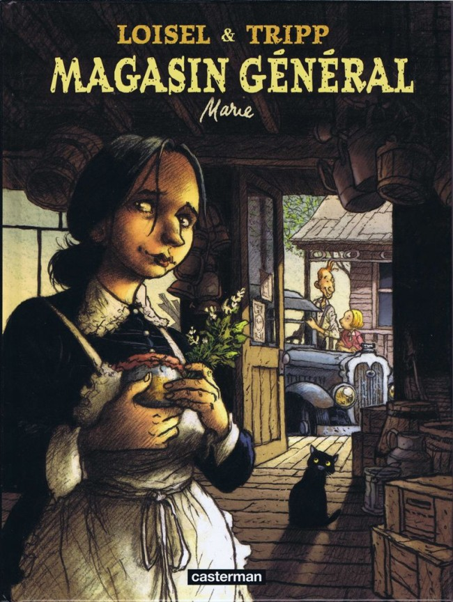 Couverture de Magasin général -1- Marie
