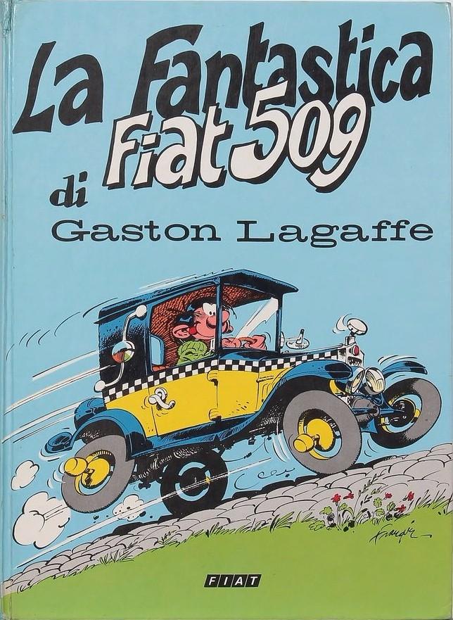 Couverture de Gaston (Hors-série) -Pub- La Fantastica Fiat 509 di Gaston Lagaffe