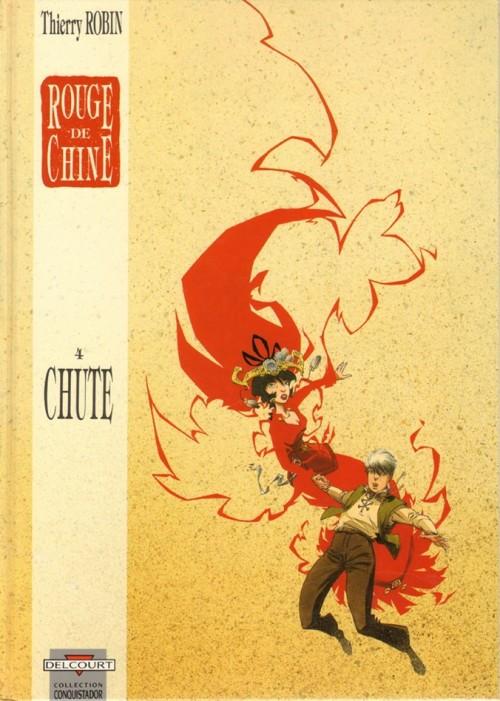 Couverture de Rouge de Chine -4- Chute