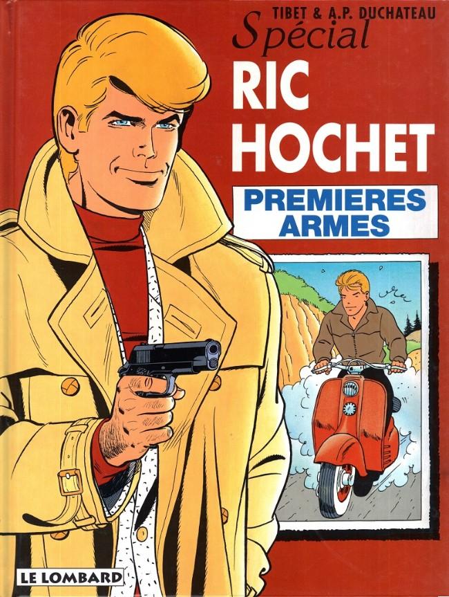 Couverture de Ric Hochet -58- Premières armes