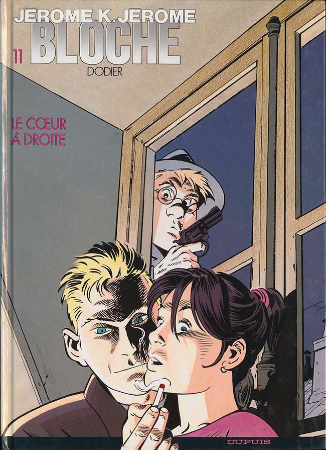 Couverture de Jérôme K. Jérôme Bloche -11- Le cœur à droite