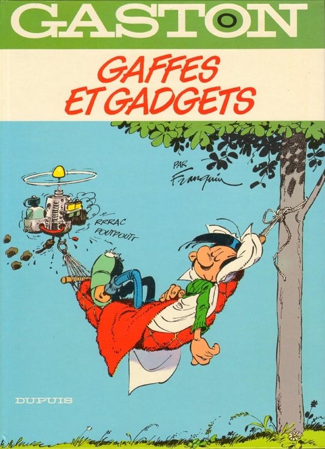 Couverture de Gaston -0- Gaffes et gadgets