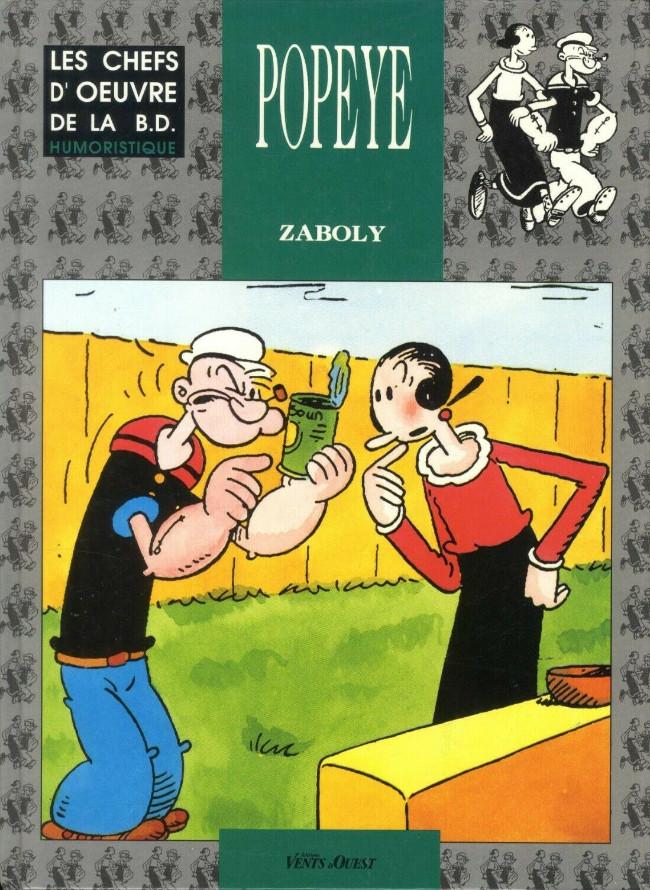 Couverture de Popeye (Zaboly) - Popeye