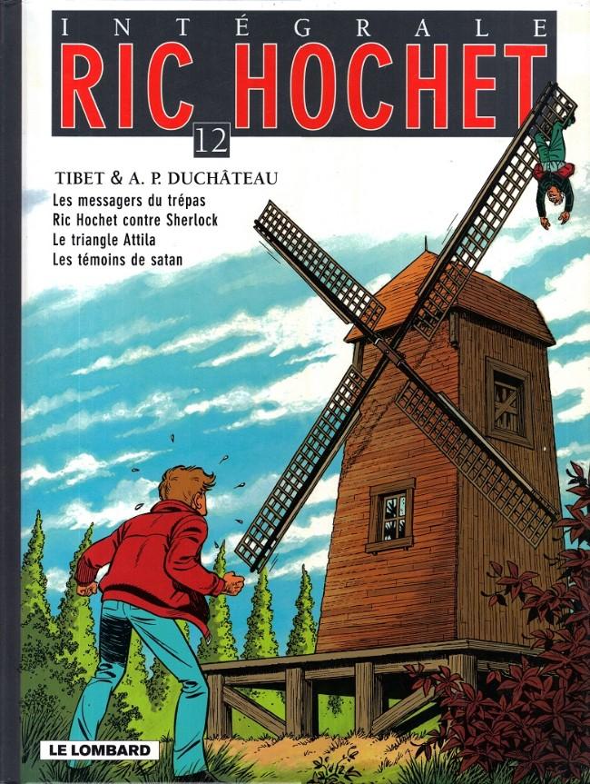Couverture de Ric Hochet (Intégrale) -12- Tome 12