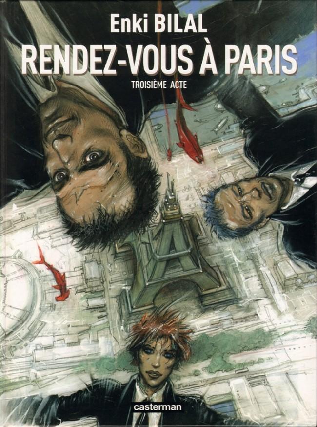 Couverture de Monstre (Bilal) -3- Rendez-Vous à Paris