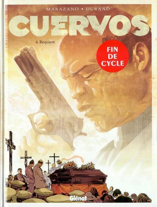 Couverture de Cuervos -4- Requiem