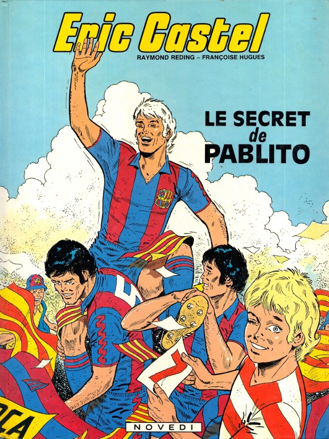 Couverture de Eric Castel -6- Le secret de Pablito